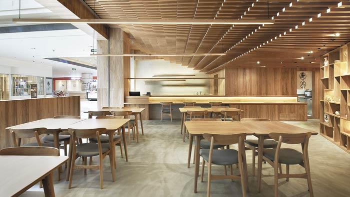 日式餐厅装修案例